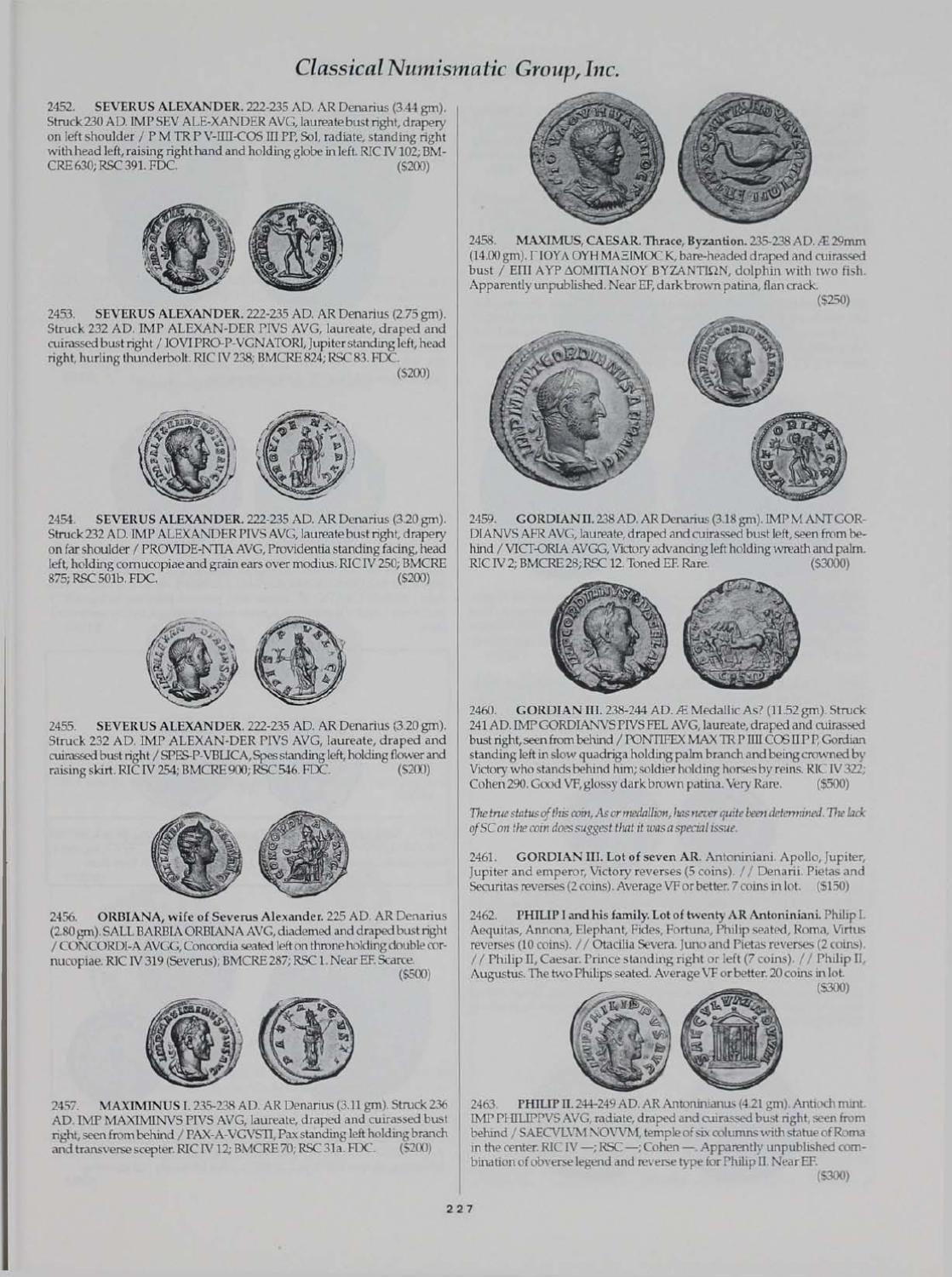 CNG_36 by Classical Numismatic Group, LLC - issuu