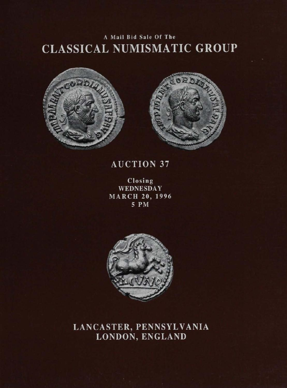 2f65e418d7adf CNG_37 by Classical Numismatic Group, LLC - issuu