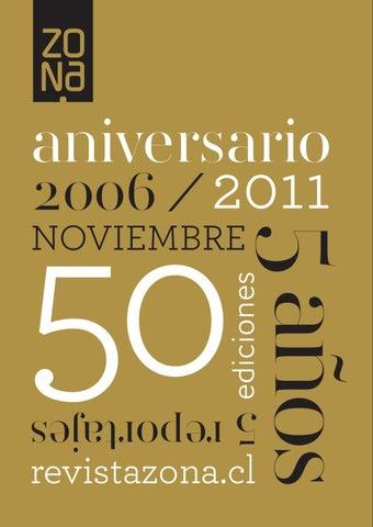 Revista Zona 50    5 Aniversario by REVISTA ZONA - www.revistazona ... 7b3a0791130