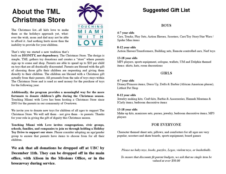 TML-Christmas-Store by UBC Miami - issuu