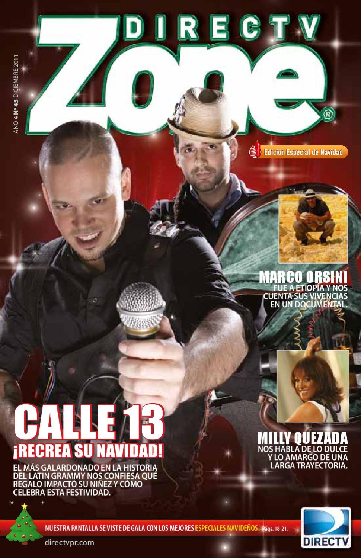 Revista DIRECTV Zone Diciembre by DIRECTV Puerto Rico - issuu