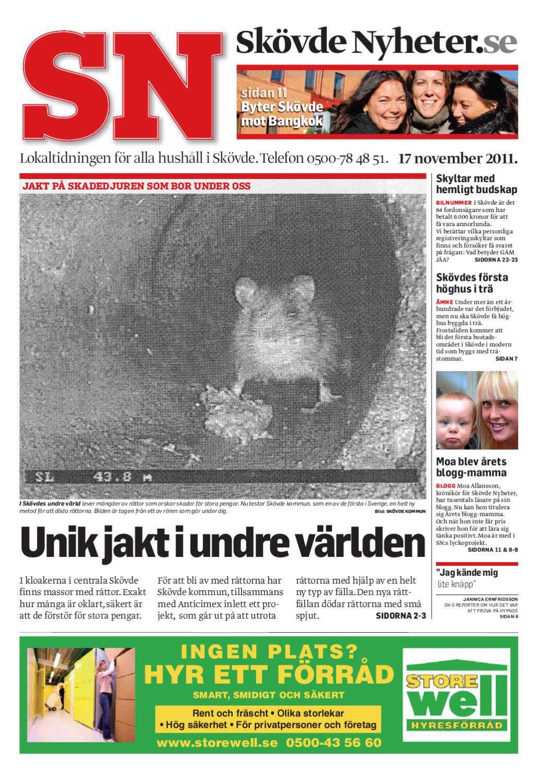 Skövde Nyheter by Skövde Nyheter - issuu ba9d21082eb33