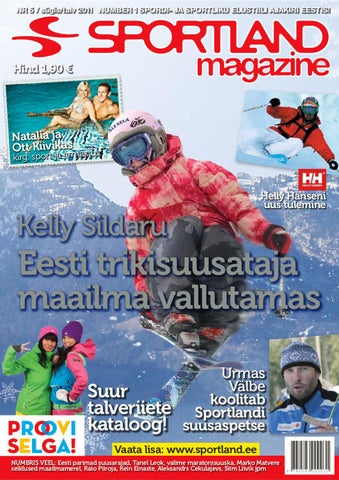 6836c72197b Sportland Magazine #5 by Sportland Eesti - issuu