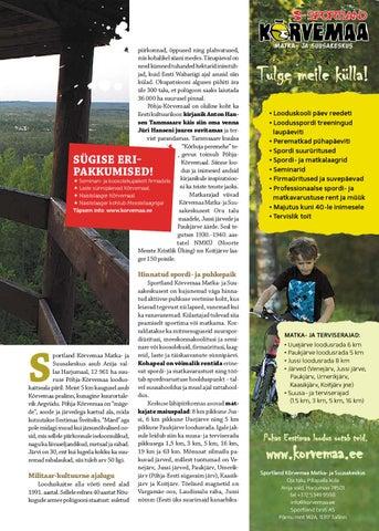 123ce9b9709 Sportland Magazine #1 by Sportland Eesti - issuu