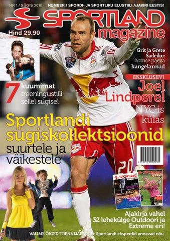 3be0b2ca34a Sportland Magazine #1 by Sportland Eesti - issuu