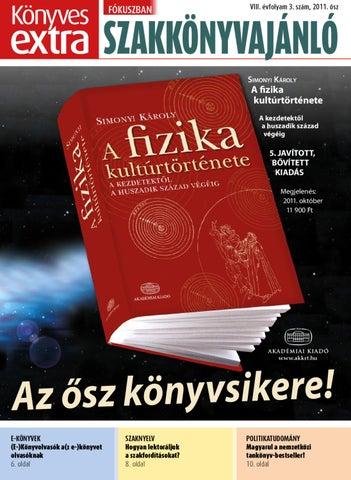 ad0f56d8b4 Könyves Extra Szakkönyvajánló 2011. október by Bazing Susanne - issuu