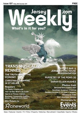 Jersey Weekly Issue 107 By Agent Design Issuu