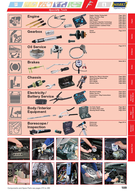 Multi-Colour HAZET 4971-1 Brake Piston Readjusting Tool