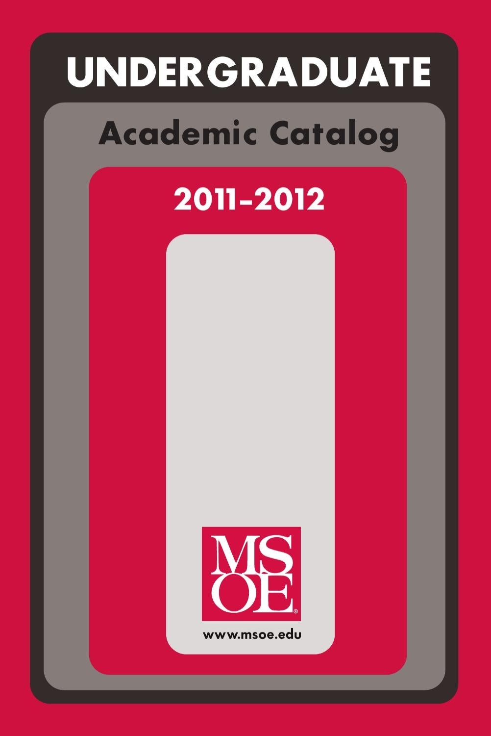Msoe Undergraduate Academic Catalog 2011 2012 By Milwaukee School Ltspice Iv Free Electronic Circuit Simulator Mechatronics Fly Of Engineering Issuu