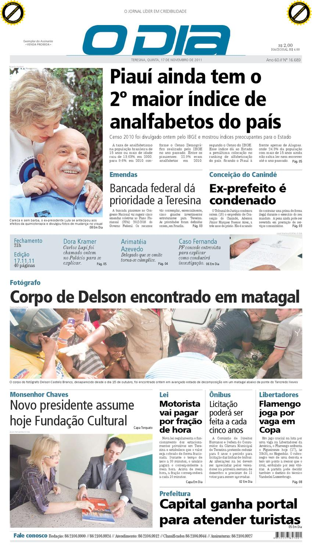 b84eb1eada Jornal O DIA by Jornal O Dia - issuu