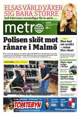 20111103 se malmo by Metro Sweden - issuu e21f4e608bf37