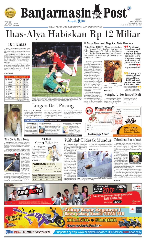 Banjarmasin Post edisi Jumat 44296b5f77