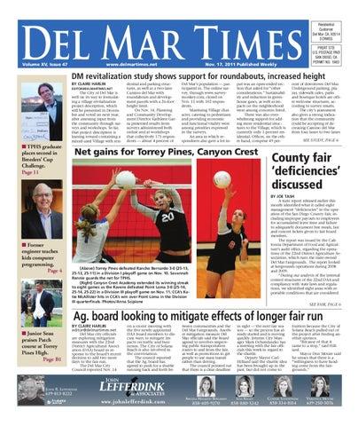 e5db8bf970b 11-17-2011 Del Mar Times by MainStreet Media - issuu