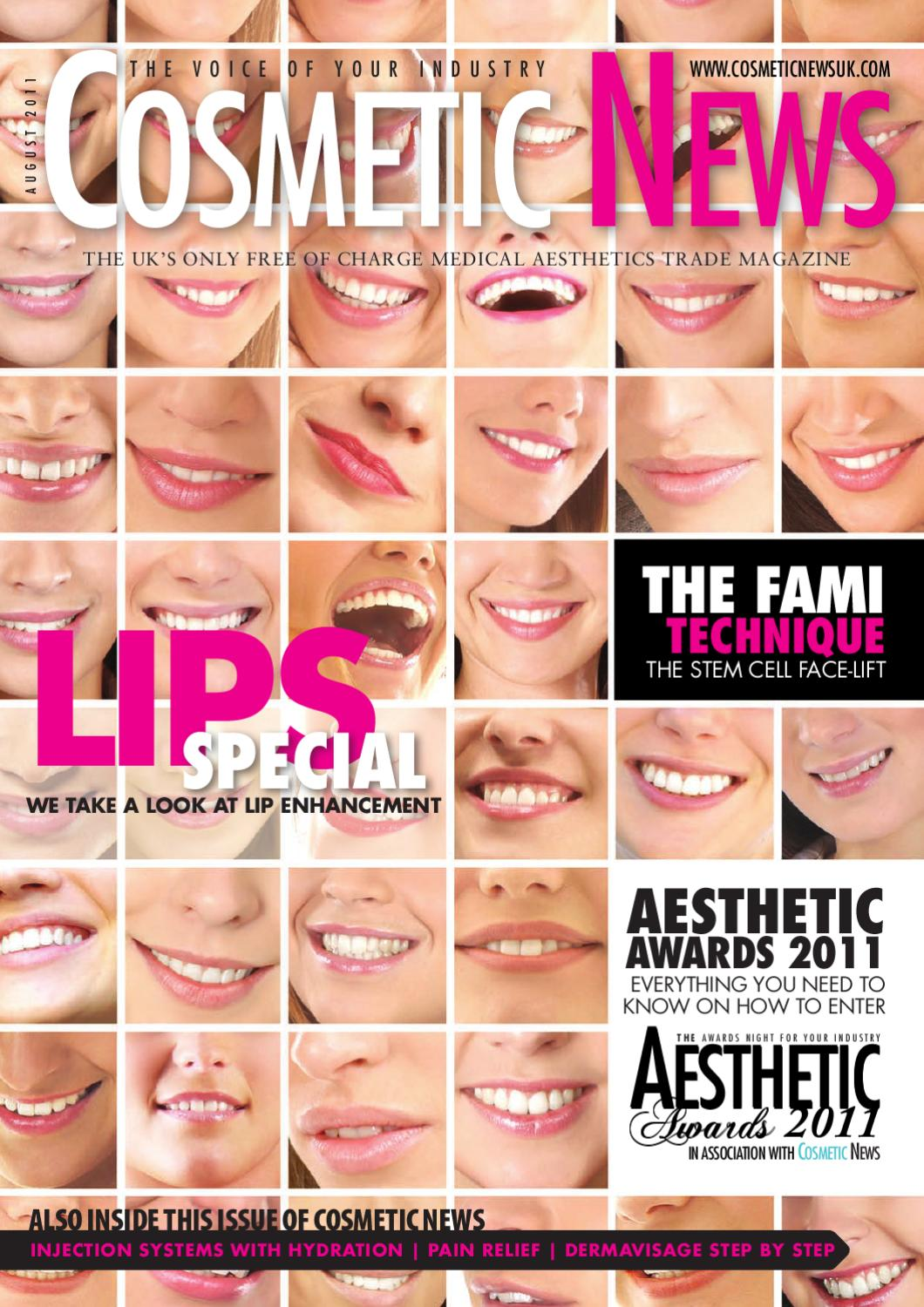 op_Cosmetic News August 2011 by webwax - issuu