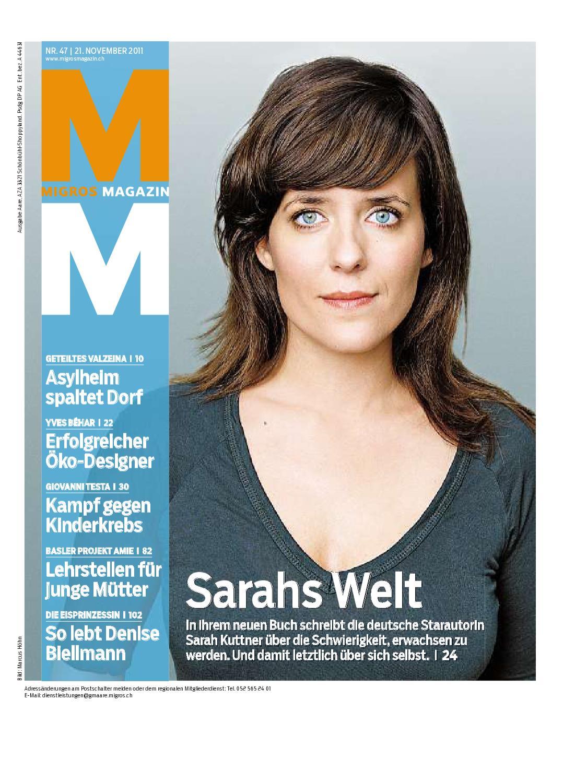 Migros Magazin 47 2011 d BL by Migros-Genossenschafts-Bund - issuu