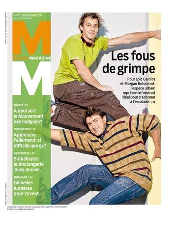 074e609af610 Migros Magazin 47 2011 f GE by Migros-Genossenschafts-Bund - issuu