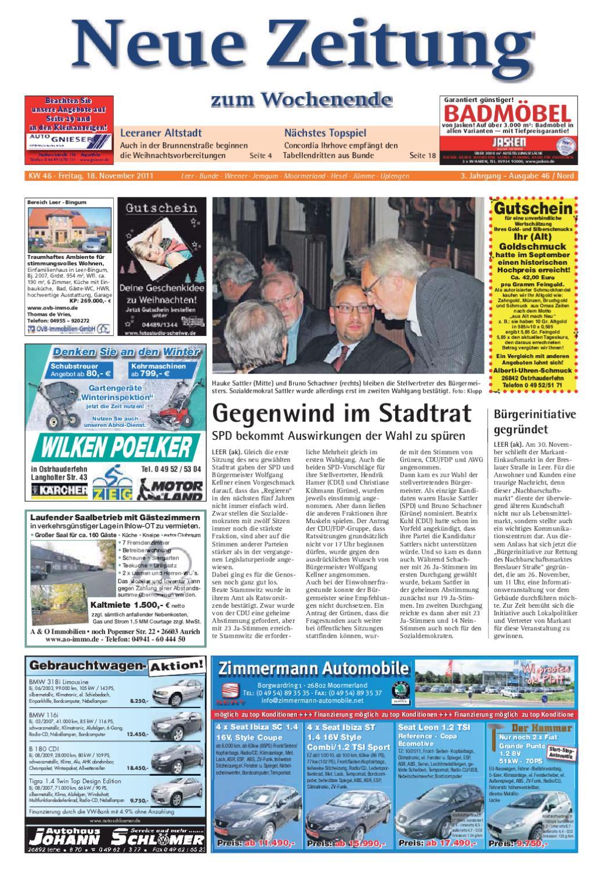 Neue Zeitung - Ausgabe Nord KW 46 by Gerhard Verlag GmbH - issuu