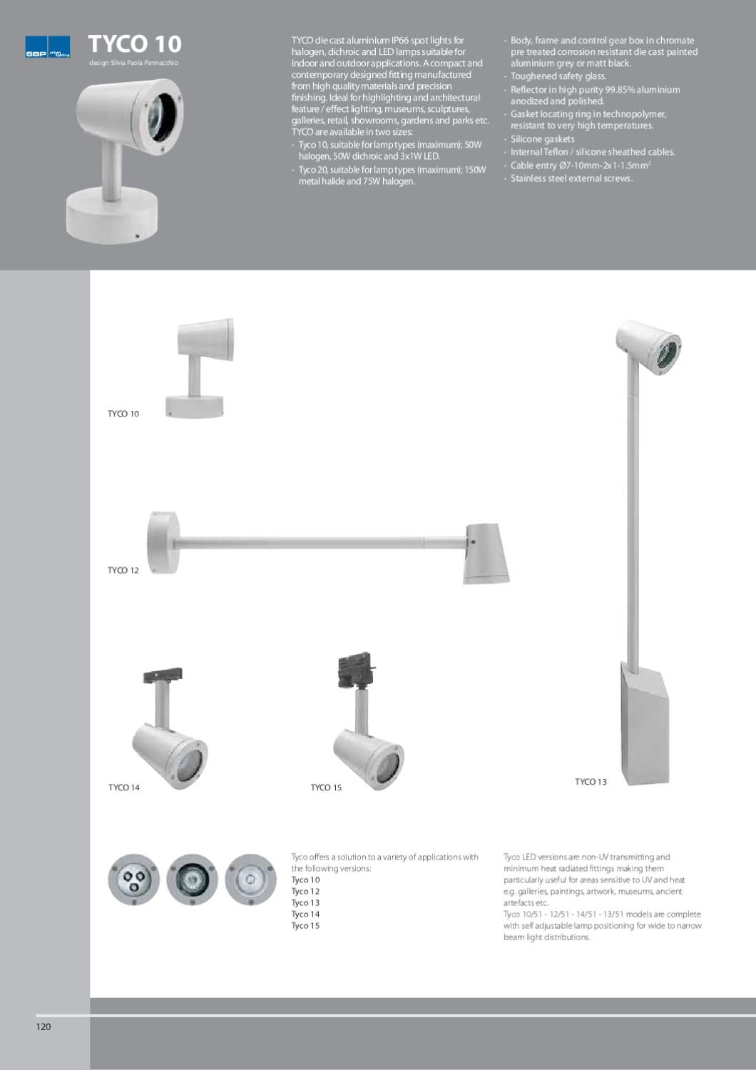 Catalogue SBP and SBP Urban Lighting by Performance in