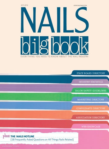 Nails magazine big book 2011 by bobit business media issuu page 1 fandeluxe Images