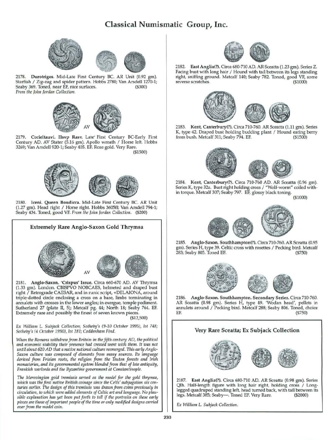 CNG_49 by Classical Numismatic Group, LLC - issuu