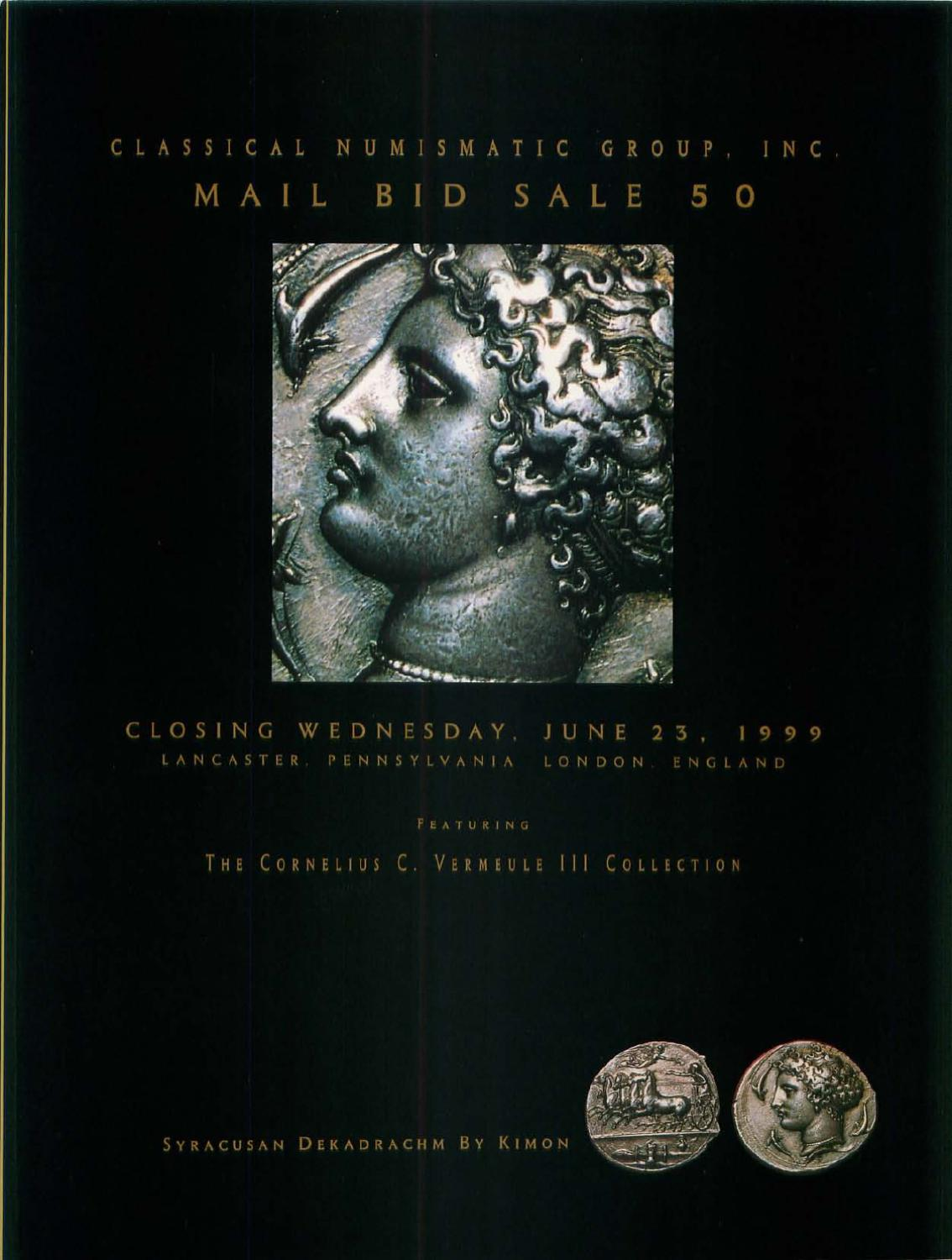 Cng50 By Classical Numismatic Group Llc Issuu