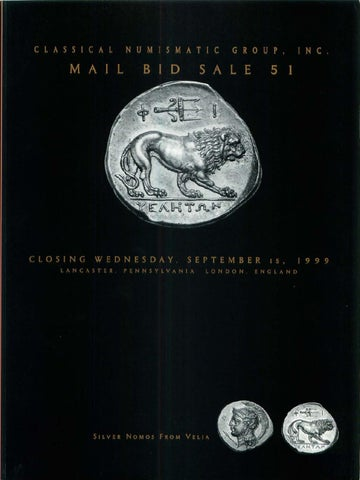 Cng51 by classical numismatic group inc issuu page 1 fandeluxe Gallery