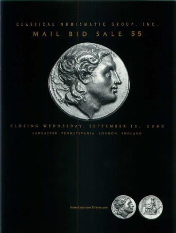 196ee7de74cdc CNG_55 by Classical Numismatic Group, LLC - issuu