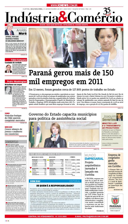 640647e5c08d7 22-11-11 Indústria Comércio by Diário Indústria   Comércio - issuu