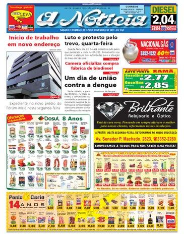8fdbc4f0d Edição de 19 e 20 de novembro de 2011 by Jornal A Notícia - issuu