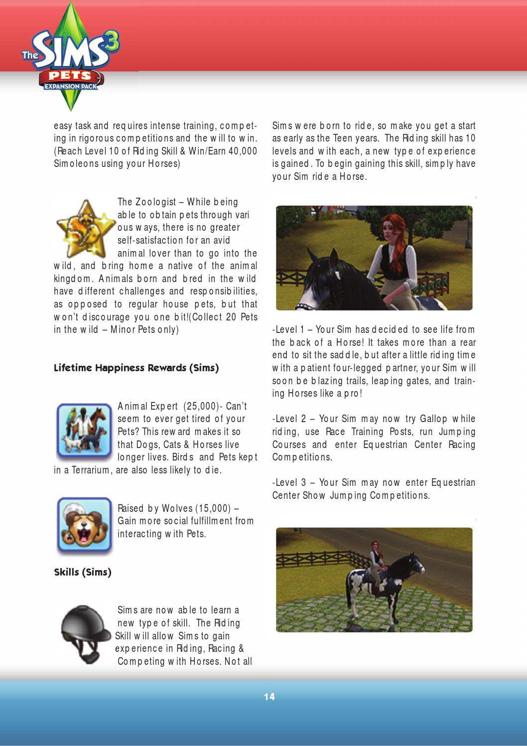 Sims 3 Pets Game Guide by Sims VIP - issuu