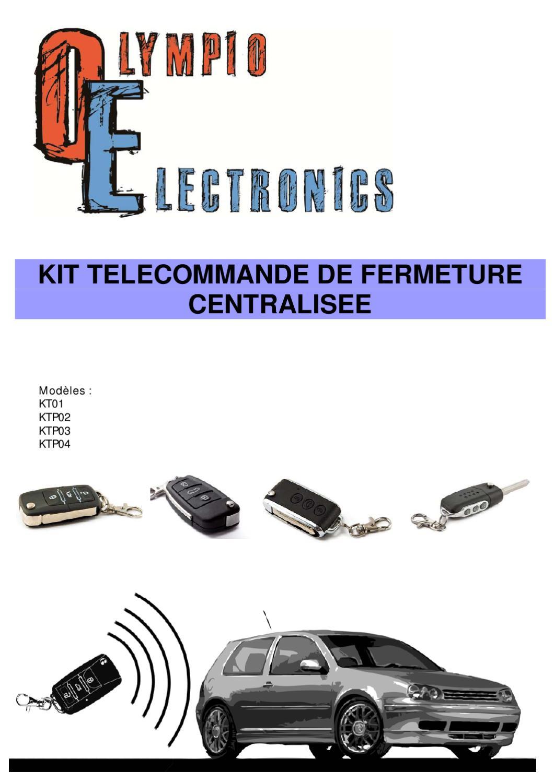 kit telecommande automobile universelle by renault safrane issuu. Black Bedroom Furniture Sets. Home Design Ideas