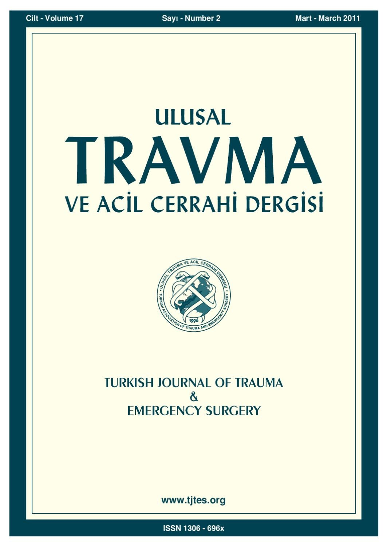Travma 2011 2 By Karepublishing Issuu