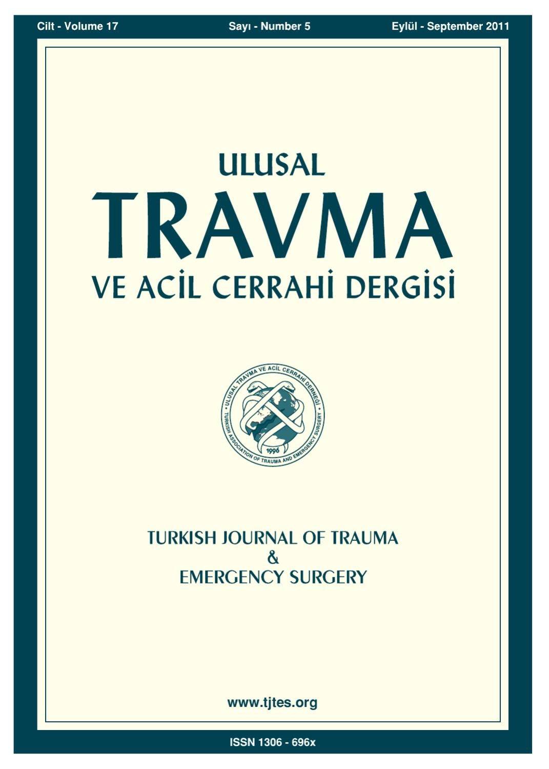 Travma 2011 5 By Karepublishing Issuu