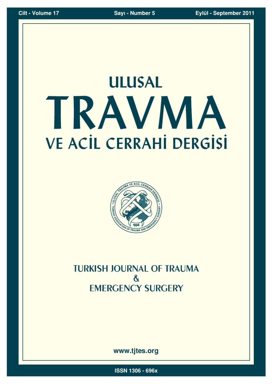 Travma 2011 5 By Karepublishing Issuu