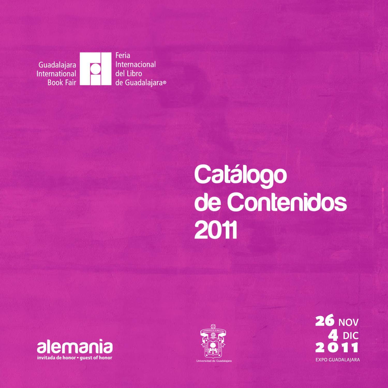 Catálogo de Contenidos 2011 by Feria Internacional del Libro de ...