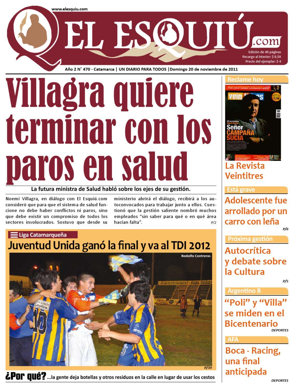 El Esquiu Jueves 20 De Noviembre De 2011 By Editorial El Esqui  # Muebles Yoma Antofagasta