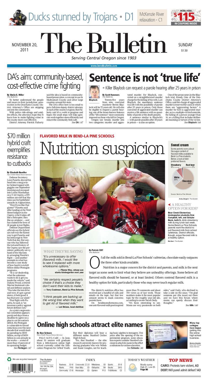 big sale 69ae7 d431b Bulletin Daily Paper 11 20 11 by Western Communications, Inc. - issuu