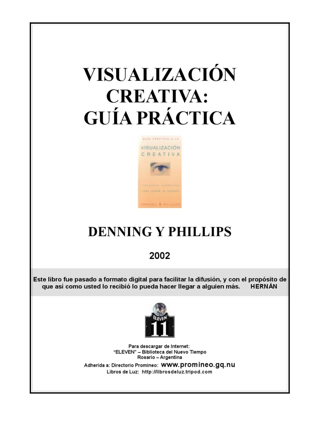 Visualización Creativa, Guía Practica - Denning y Phillips by Milton ...