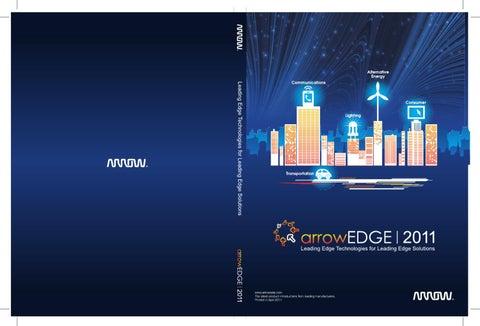 arrowEDGE 2011 (English) by Arrow - issuu