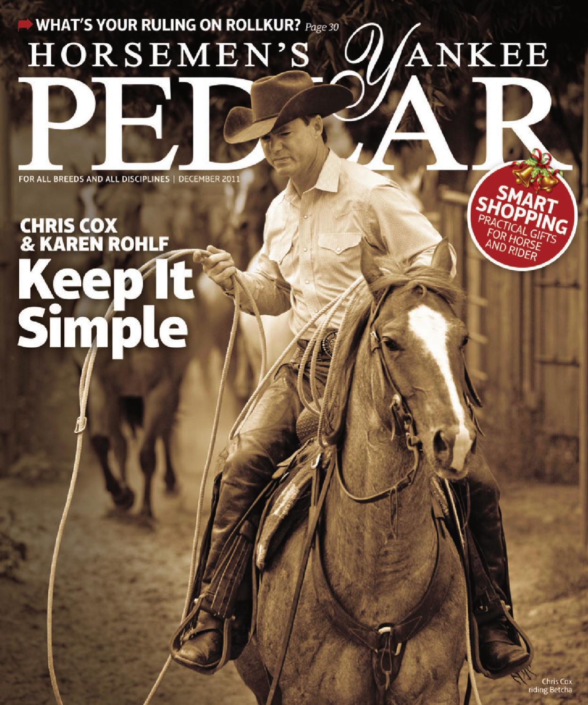 5acb367a272 Horsemen s Yankee Pedlar (December 2011) by Equine Journal - issuu