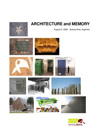 Architecture and violence by actar publishers issuu cover of architecture and memory fandeluxe Choice Image