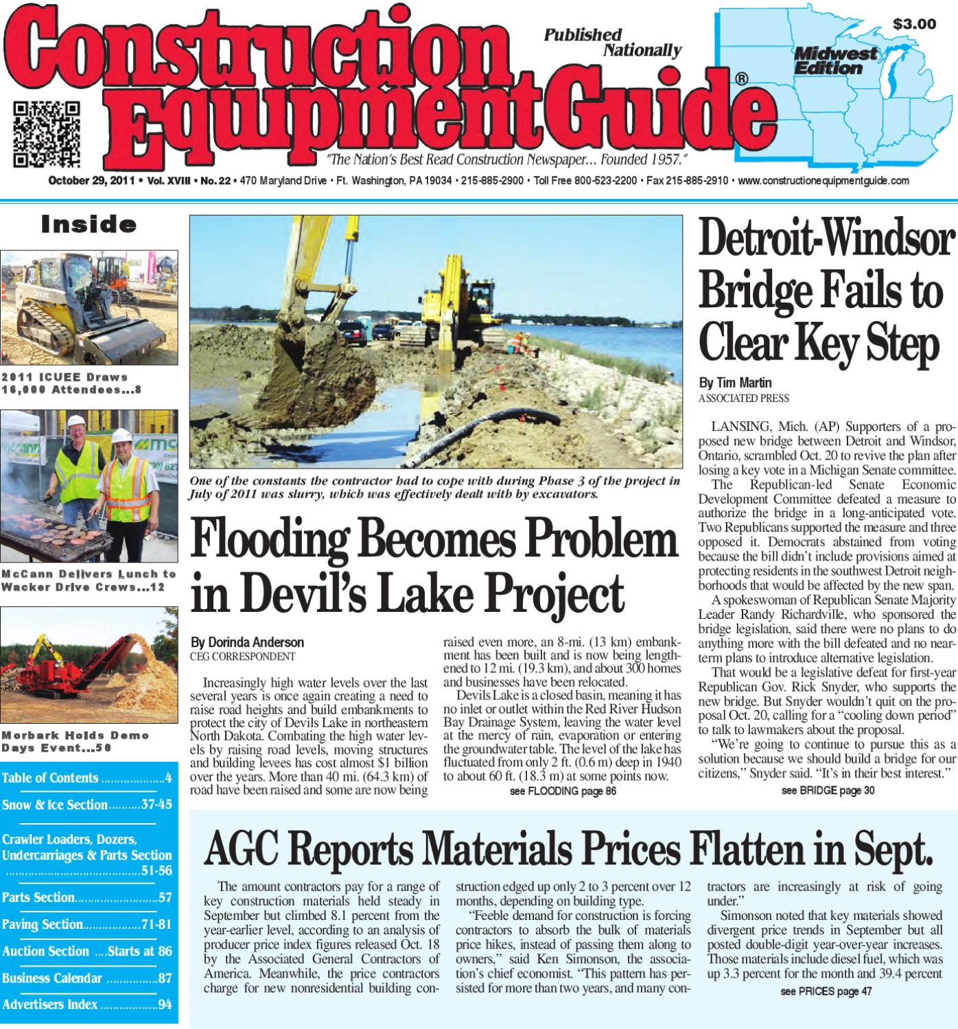 Midwest #22, 2011 by Construction Equipment Guide - issuu