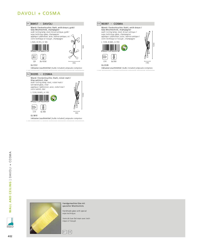 Catalog Interioare Eglo 2011 Part 2 By Te Luminez Issuu