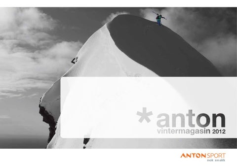 66fadd1c Anton Sport Vintermagasin 2014 by INK DESIGN - issuu