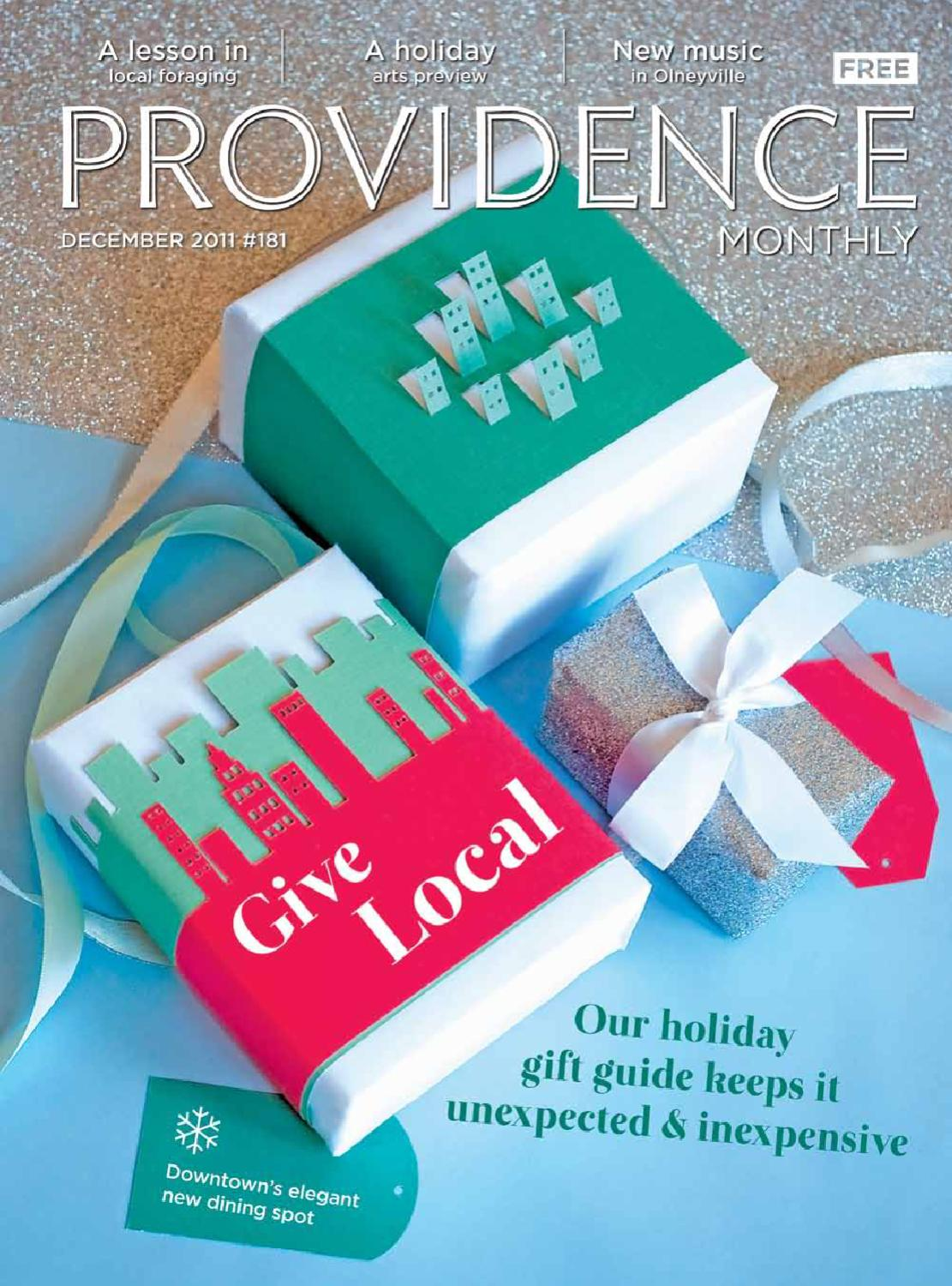 Providence Monthly December 2011 by Providence Media - issuu