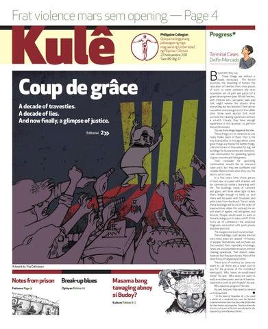Philippine Collegian Issue 17 by Philippine Collegian - issuu