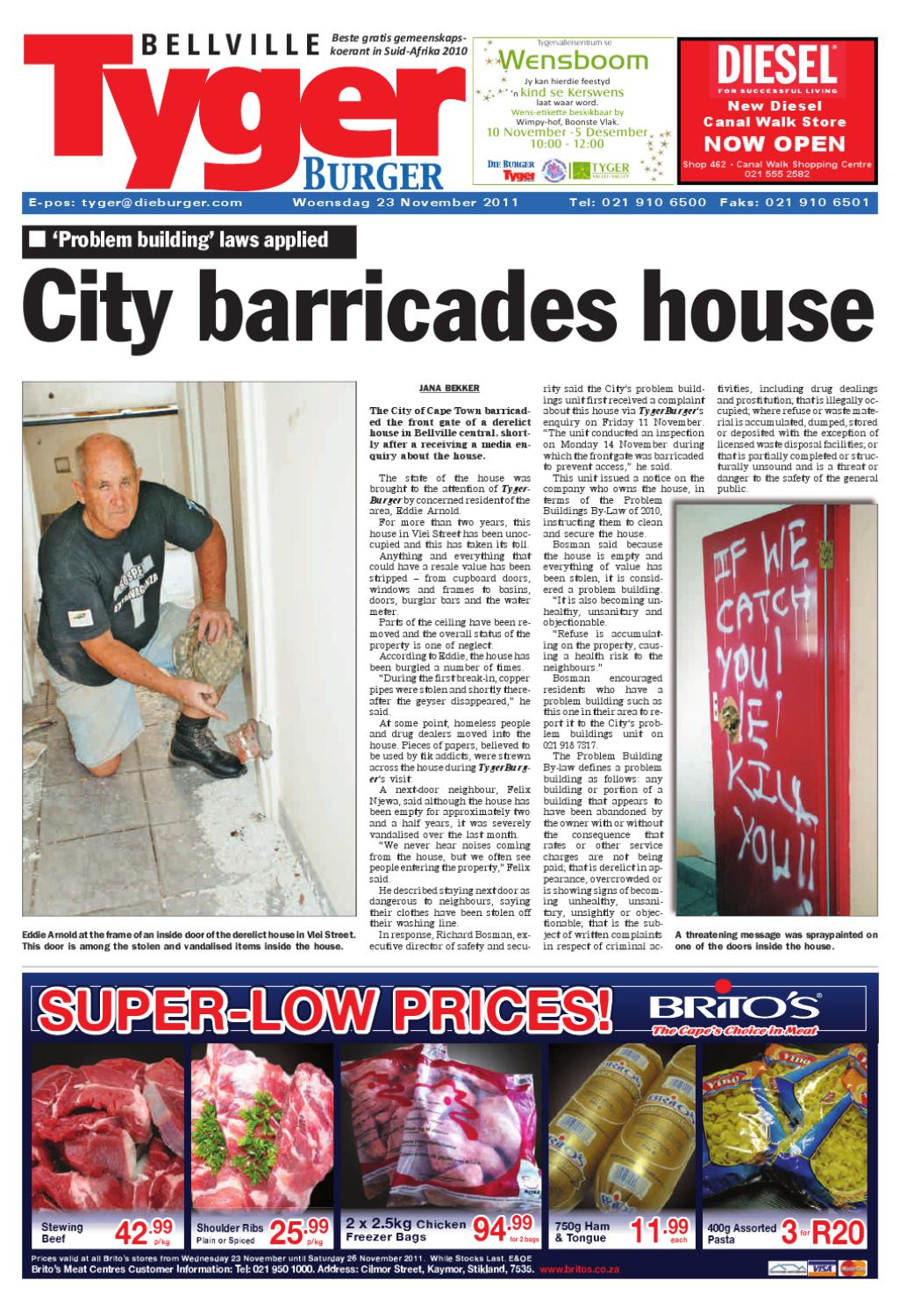 Tygerburger bellville edition 231111pdf by tygerburger newspaper tygerburger bellville edition 231111pdf by tygerburger newspaper issuu ccuart Images