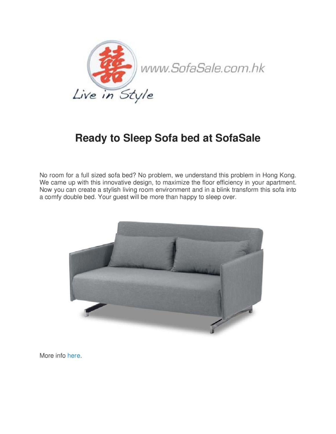 Swell Ready To Sleep Sofa Bed At Sofasale By Prawesh Limbu Issuu Pdpeps Interior Chair Design Pdpepsorg