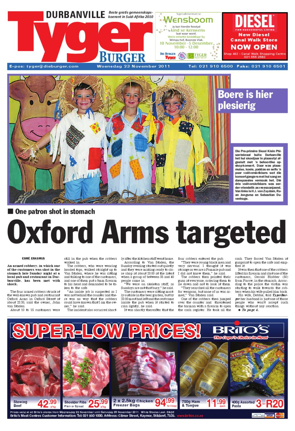 Tygerburger durbanville edition 231111pdf by tygerburger tygerburger durbanville edition 231111pdf by tygerburger newspaper issuu ccuart Images