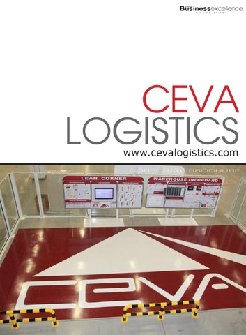 ceva logistics corporate brochure by business excellence. Black Bedroom Furniture Sets. Home Design Ideas